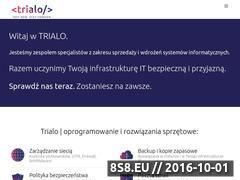 Miniaturka domeny www.trialo.pl