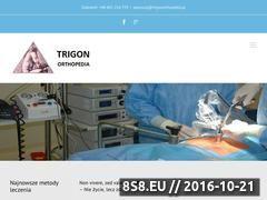 Miniaturka domeny trigonorthopedia.pl