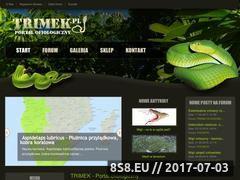 Miniaturka domeny www.trimek.pl