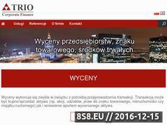 Miniaturka domeny triocf.pl