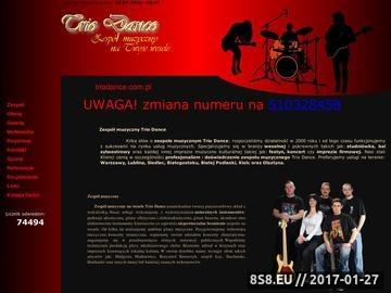 Zrzut strony Zespół muzyczny na wesele