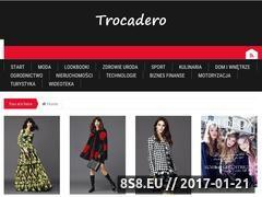 Miniaturka domeny www.trocadero.pl