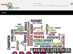 Miniaturka domeny www.trofea-sport.pl