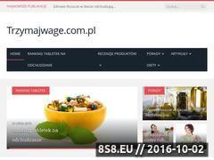 Miniaturka domeny trzymajwage.com.pl