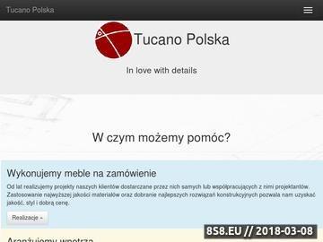 Zrzut strony TucanoPolska Sp. z o.o. - meble na wymiar Kraków