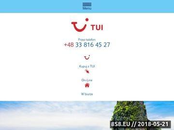 Zrzut strony Biuro podróży Tui Bielsko-Biała