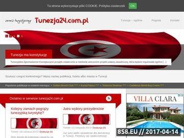 Zrzut strony Tunezja - informacje