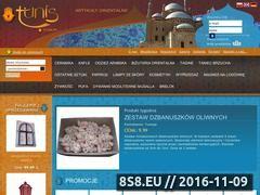 Miniaturka domeny tunis.com.pl