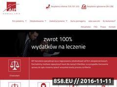 Miniaturka domeny www.tuodszkodowania.pl