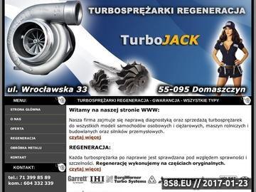 Zrzut strony Regeneracja turbosprężarek Wrocław