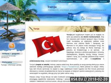 Zrzut strony Turcja - informacje