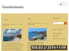 Miniaturka domeny tureckiekurorty.pl