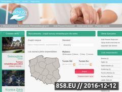 Miniaturka domeny www.turnus-rehabilitacyjny.net