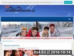Miniaturka domeny turystykastudencka.pl