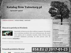 Miniaturka domeny tutnetorg.pl