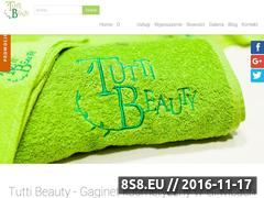 Miniaturka domeny www.tuttibeauty.pl