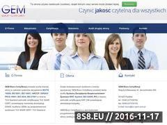 Miniaturka domeny www.tuv-gem.com.pl