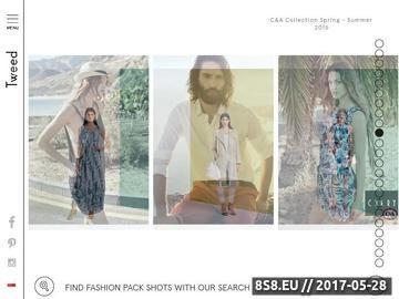 Zrzut strony Fashion marketing oraz PR produktowy