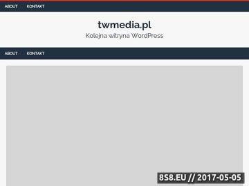 Zrzut strony Agencja Reklamowa Katowice
