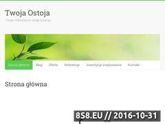 Miniaturka domeny twoja-ostoja.pl
