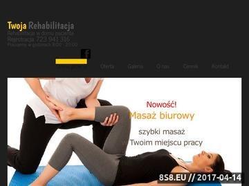 Zrzut strony Rehabilitacja w Poznaniu i okolicach