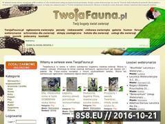 Miniaturka domeny www.twojafauna.pl
