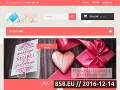 Miniaturka domeny www.twojakartka.pl