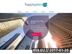 Miniaturka domeny www.twojasystent24.pl