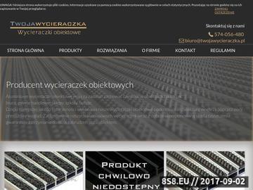 Zrzut strony Producent aluminiowych wycieraczek obiektowych