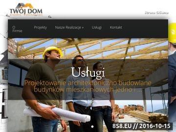 Zrzut strony Projekty Domów - Twój Dom S.C. Olkusz
