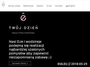 Zrzut strony Organizacja imprez ślubnych w Krakowie