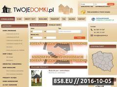 Miniaturka domeny twojedomki.pl