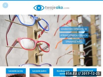 Zrzut strony Klinika Twoje Oko