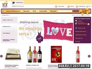 Zrzut strony TwojePrezenty.pl - Katalog Prezentów