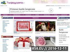 Miniaturka domeny www.twojezyczenia.pl