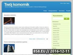 Miniaturka domeny twojkomornik.pl