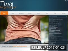 Miniaturka Strona o Twoim kręgosłupie  (www.twojkregoslup.pl)