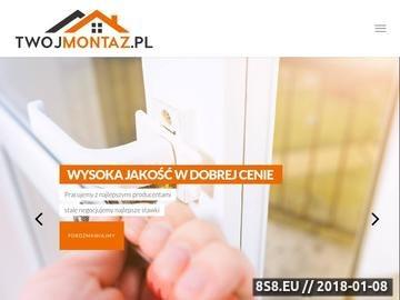 Zrzut strony Okna Szczecin