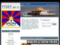 Miniaturka domeny www.tybet.xmc.pl