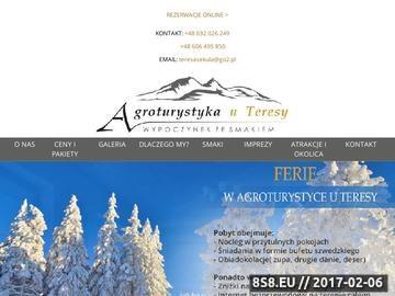 Zrzut strony Urlop w Tyliczu- Agroturystyka Dom Wypoczynkowy Teresa