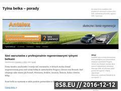 Miniaturka domeny www.tylna-belka.pl