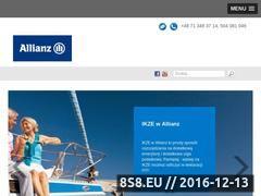 Miniaturka domeny www.ubezpieczamwallianz.pl