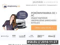 Miniaturka domeny ubezpieczamy-auto.pl