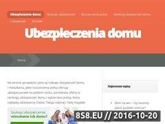 Miniaturka domeny ubezpieczdom.pl