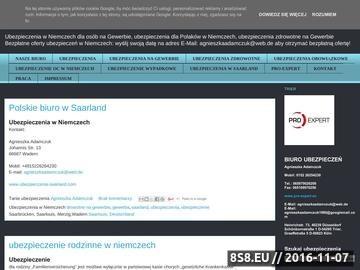 Zrzut strony Ubezpieczenia na gewerbie, ubezpieczenia w niemczech dla firm