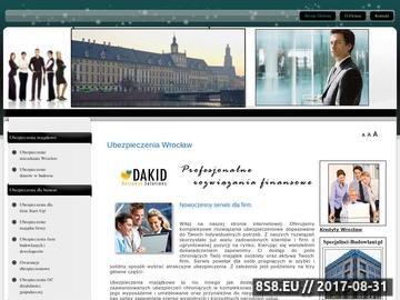 Zrzut strony Ubezpieczenie mieszkania Wrocław