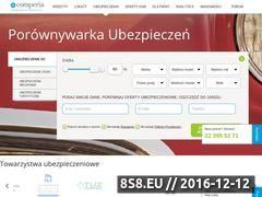 Miniaturka domeny ubezpieczenia.comperia.pl