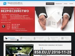 Miniaturka domeny ubezpieczenialublin.eu