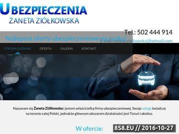 Zrzut strony Najtańsze ubezpieczenia majątkowe Toruń - Apogeum