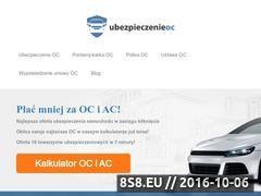 Miniaturka domeny ubezpieczenie-oc.auto.pl